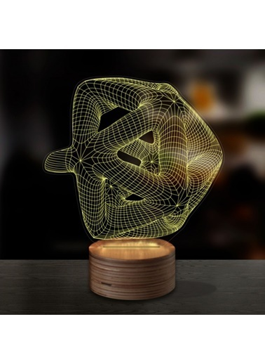 Artikel Vortex 3D LED Gece Lambası Renkli
